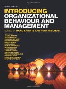 Organizational Behaviour & Management, 2/e (Paperback)-cover