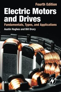 Electric Motors and Drives: Fundamentals, Types and Applications, 4/e (Paperback)-cover
