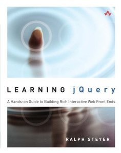 Learning jQuery: A Hands-on Guide to Building Rich Interactive Web Front Ends (Paperback)-cover