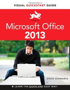 Microsoft Office 2013: Visual QuickStart Guide (Paperback)-cover