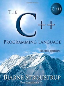 The C++ Programming Language, 4/e (Paperback)-cover