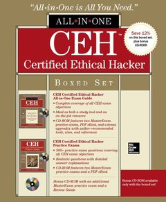 CEH Certified Ethical Hacker Boxed Set (All-in-One) (CD-ROM)-cover
