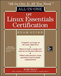 LPI Linux Essentials Certification All-in-One Exam Guide (Paperback)-cover