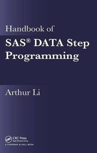 Handbook of SAS DATA Step Programming (Hardcover)-cover