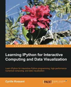Learning IPython for Interactive Computing and Data Visualization (Paperback)-cover