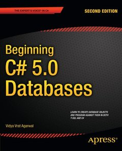 Beginning C# 5.0 Databases, 2/e (Paperback)-cover