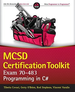 MCSD Certification Toolkit (Exam 70-483): Programming in C# (Paperback)-cover
