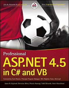Professional ASP.NET 4.5 in C# and VB (Paperback)-cover