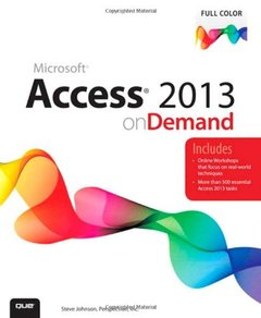 Access 2013 on Demand (Paperback)-cover