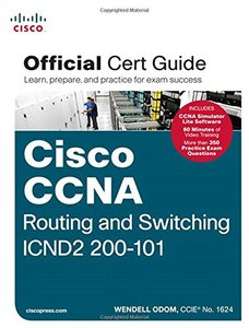 Cisco CCNA Routing and Switching ICND2 200-101 Official Cert Guide (Hardcover)-cover