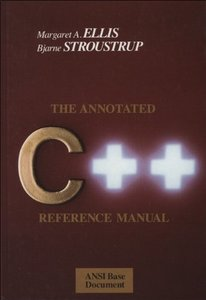The Annotated C++ Reference Manual (Paperback)-cover