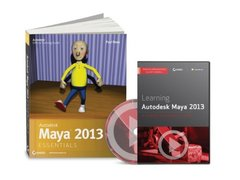 Autodesk Maya 2013 Essential Learning Kit (Paperback)-cover