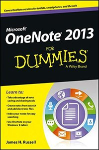 OneNote 2013 For Dummies (Paperback)-cover
