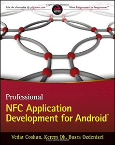 Professional NFC Application Development for Android (Paperback)-cover