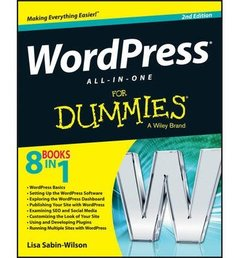 WordPress All-in-One For Dummies, 2/e (Paperback)-cover