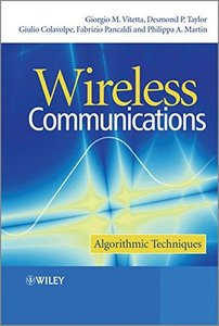 Wireless Communications: Algorithmic Techniques (Hardcover)-cover