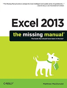 Excel 2013: The Missing Manual (Paperback)-cover
