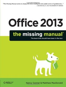 Office 2013: The Missing Manual (Paperback)-cover