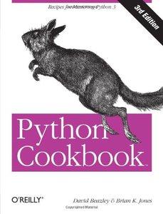 Python Cookbook, 3/e (Paperback)-cover
