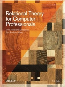 Relational Theory for Computer Professionals (Paperback)-cover