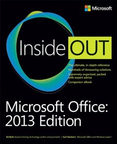 Microsoft Office Inside Out: 2013 Edition (Paperback)-cover