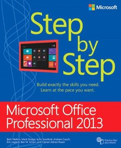 Microsoft Office Professional 2013 Step by Step (Paperback)-cover