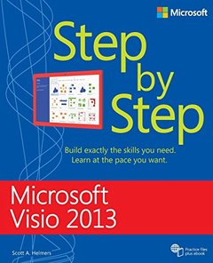 Microsoft Visio 2013 Step By Step (Paperback)-cover