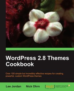 WordPress 2.8 Themes Cookbook (Paperback)-cover