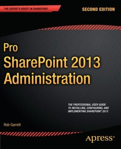 Pro SharePoint 2013 Administration, 2/e (Paperback)-cover