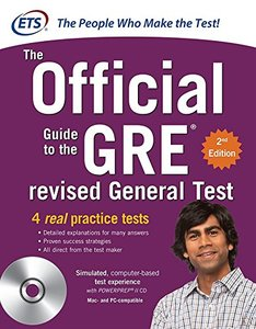 The Official Guide to the GRE Revised General Test, 2/e (Paperback)-cover
