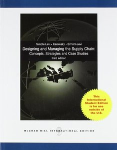 Designing and Managing the Supply Chain, 3/e (IE-Paperback)