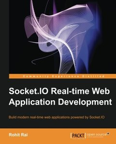 Socket.IO Real-time Web Application Development-cover
