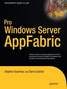 Pro Windows Server: AppFabric (Paperback)-cover