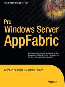 Pro Windows Server: AppFabric (Paperback)
