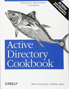 Active Directory Cookbook, 4/e (Paperback)-cover