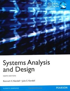 Systems Analysis and Design, 9/e (IE-Paperback)-cover
