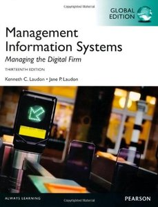 Management Information Systems: Managing the Digital Firm, 13/e (IE-Paperback)-cover
