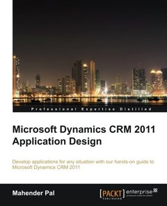 Microsoft Dynamics CRM 2011 Application Design-cover