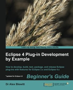 Eclipse 4 Plug-in Development by Example: Beginner's Guide-cover
