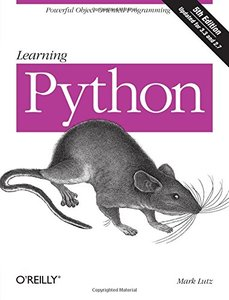 Learning Python, 5/e (Paperback)-cover