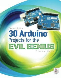 30 Arduino Projects for the Evil Genius, 2/e (Paperback)-cover