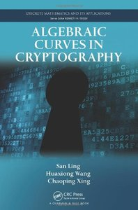 Algebraic Curves in Cryptography (Hardcover)-cover