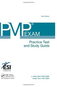 PMP Exam Practice Test and Study Guide, 9/e (Paperback)-cover