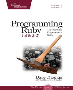 Programming Ruby 1.9 & 2.0: The Pragmatic Programmers' Guide, 4/e (Paperback)-cover