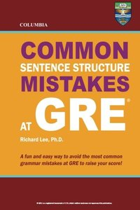 Columbia Common Sentence Structure Mistakes at GRE (Paperback)-cover