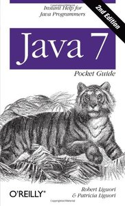 Java 7 Pocket Guide, 2/e (Paperback)-cover