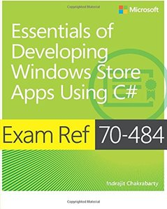 Exam Ref 70-484: Essentials of Developing Windows Store Apps using C# (Paperback)-cover