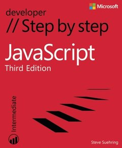 JavaScript Step by Step, 3/e (Paperback)-cover