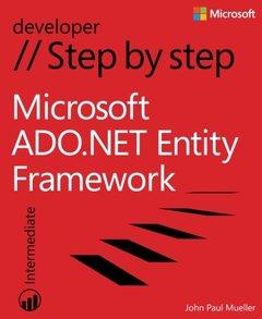 Microsoft ADO.NET Entity Framework Step by Step (Paperback)-cover