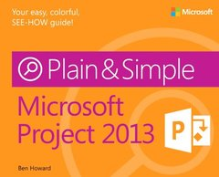 Microsoft Project 2013 Plain & Simple (Paperback)-cover